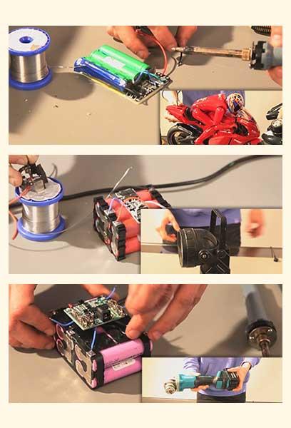 Energy Peak Shaver - Repair Batteries